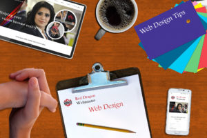 Web Design - Red Dragon Webmaster